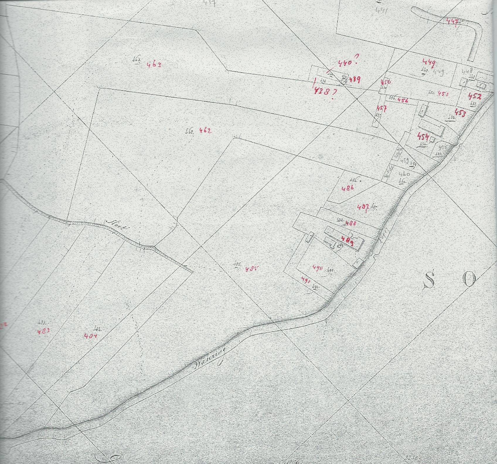 Kadastrale kaart 1832
